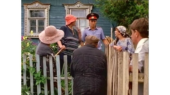 Поучительная история про Забор между соседями сериал Участок - 1 сезон, 8 серия