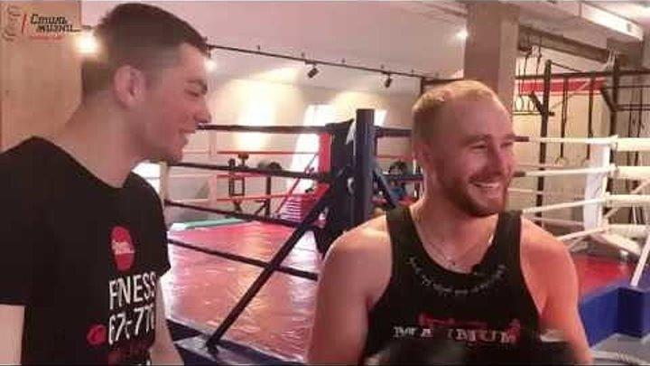 Цель, за месяц подготовится к спаррингу с боксёром часть 2 тренировка