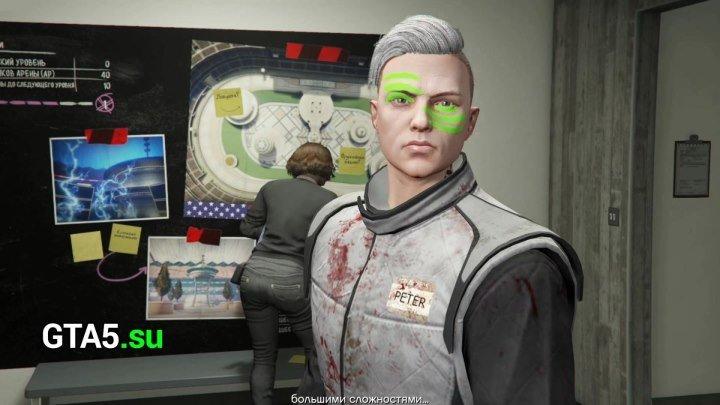 Внутри мастерской арены Maze Bank в GTA Online