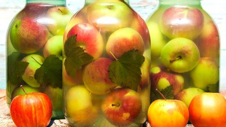 МОЧЕНЫЕ ЯБЛОКИ 🍀🍎🍏 Простой и вкусный рецепт заготовки на зиму❄❄❄👍