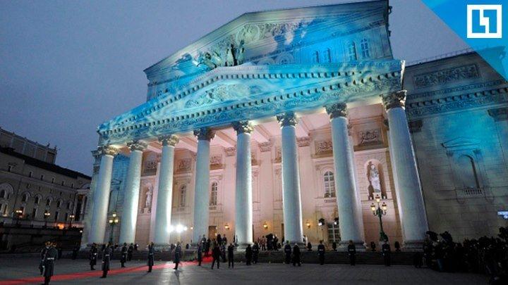 Оперный концерт под открытым небом в Москве