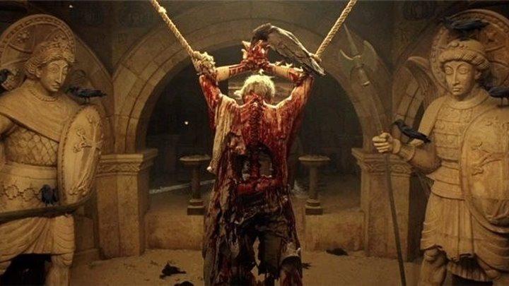 """Фильм """" Изгоняющий дьявола: Начало """" Ужасы, Триллеры, Детективы 2004"""