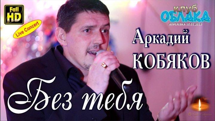 Full HD/ Live Concert/ Аркадий КОБЯКОВ - Без тебя/ Апрелевка, 10.01.2015
