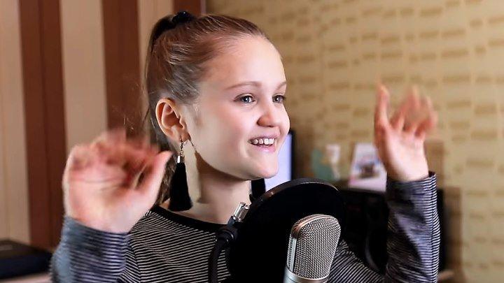 11 - летняя девочка перепела хит - Розовое вино ( Элджей & Feduk ) cover