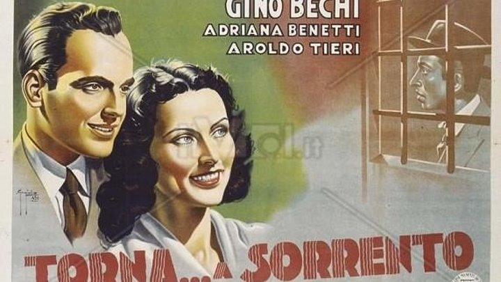 """х/ф """"Вернись в Сорренто"""" (Италия,1945) Советский дубляж"""