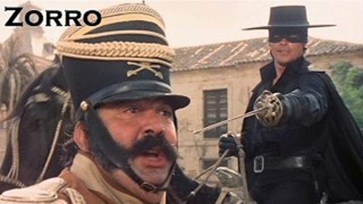 "х/ф ""Зорро"" (Италия,Франция,1975) Советский дубляж"