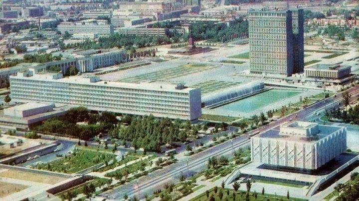 Ретро фотографии Ташкента! Монтаж Закир Касымов 2018г