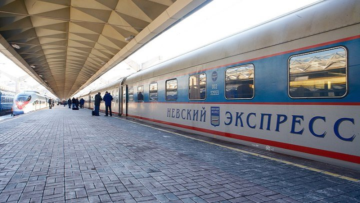 Поезд на Ленинград