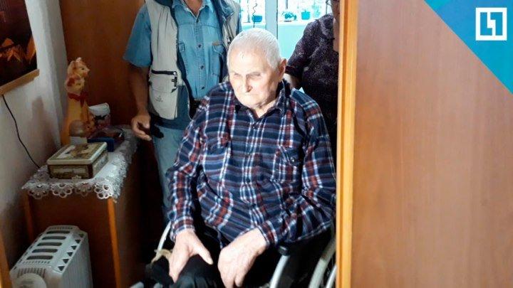 94-летний ветеран ест в коридоре и гуляет раз в месяц