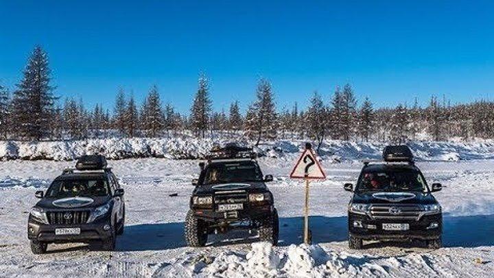 """Рыбалка, река Лена, Иркутск. Часть 13 Путешествие на Toyota Land Cruiser """"Полюс холода"""""""