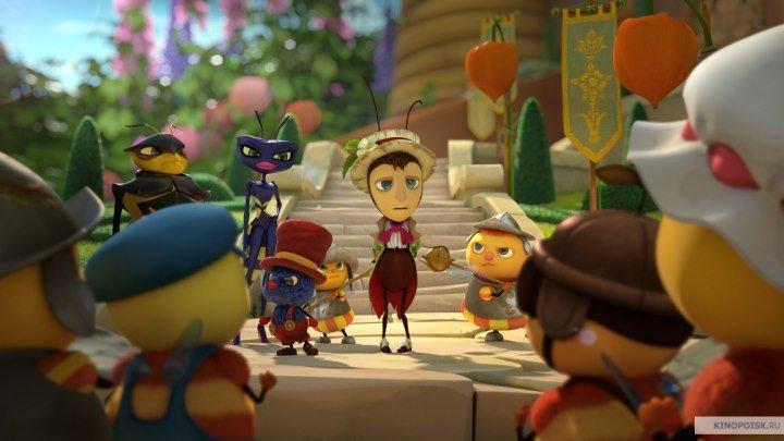 Тайная жизнь насекомых / Drôles de petites bêtes (2017). мультфильм, комедия, приключения