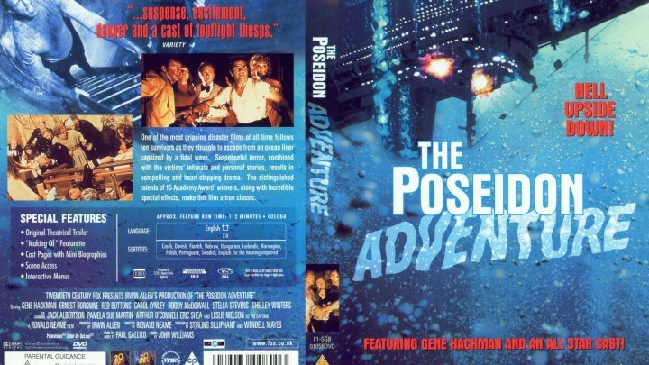 Приключения Посейдона (1972) - драма, приключения