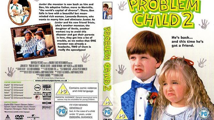 комедия, семейный-Трудный ребенок 2(1991)1080p