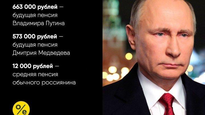 Поздравление В.В.Путина с Днем Рождения 2018 _ Успехи именинника _ Стебаты Бычко