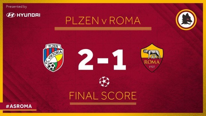 📹 Viktoria Plzen 2-1 Roma Highlights, Goals and Best Moments