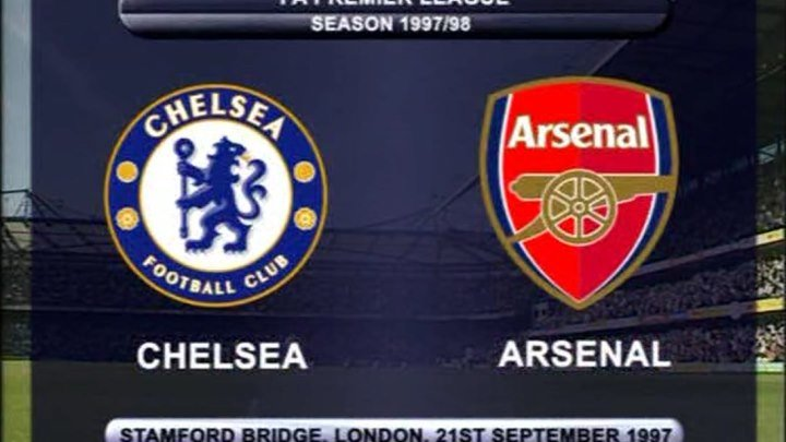 Лучшие матчи АПЛ. 21.09.1997 - Chelsea vs Arsenal