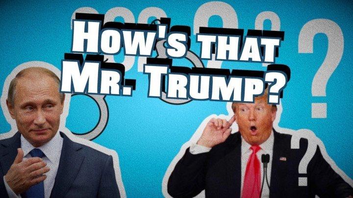 Что скажете на это, Мистер Трамп?