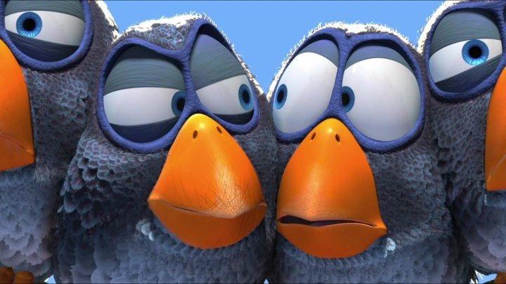 О птичках HD(мультфильм)2000г