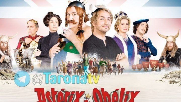Asteriks va Obeliks Britaniyada (Uzbek tilida) HD