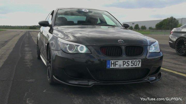 BMW M5 5.8L V10 DINAN STROKER - 630HP 'BLACK BEAST'!!