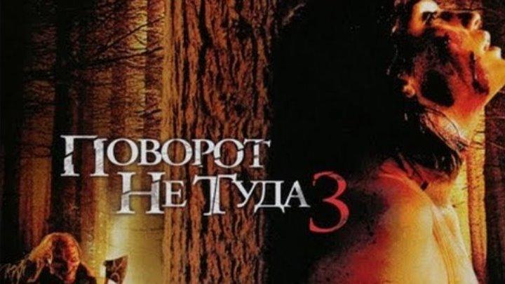 Поворот не туда 3. (2009) Триллер, ужасы.