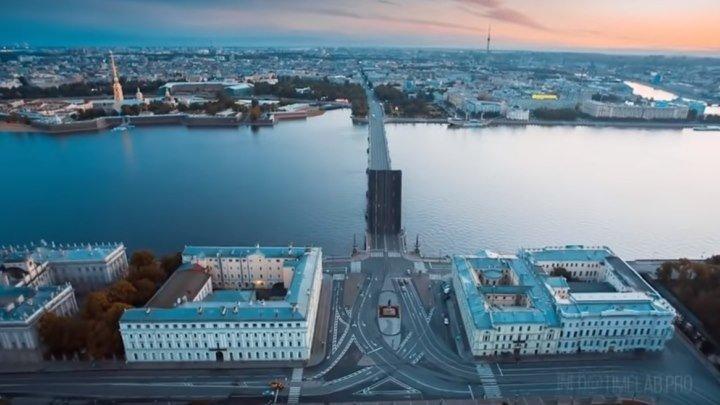 Санкт Петербург с высоты птичьего полета! Какая красота!...