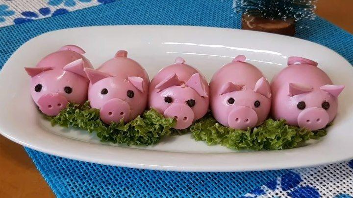 Гламурные Свинки. Новогодняя Закуска