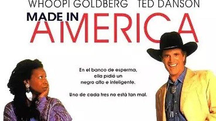 Сделано в Америке _ Made in America (1993) Жанр: Комедия, Приключения В ролях: Вупи Голдберг, Тед Дэнсон, Уилл Смит