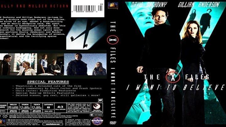 Секретные материалы: Хочу верить (2008) - фантастика, триллер, драма, детектив