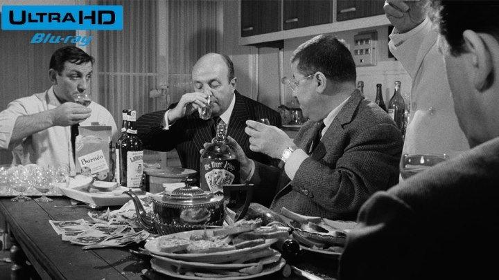 Дядюшки-Гангстеры (Франция, Италия, Германия 1963) Криминал, Боевик, Комедия