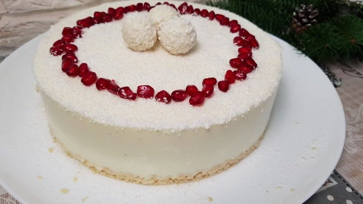 БЕЗ ДУХОВКИ Потрясающий Торт РАФАЭЛЛО за 5 МИНУТ с Творога!Cake in 5 minutes