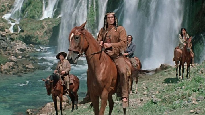Белые волки (ГДР, Югославия 1969 HD) Приключения, Драма, Вестерн, История