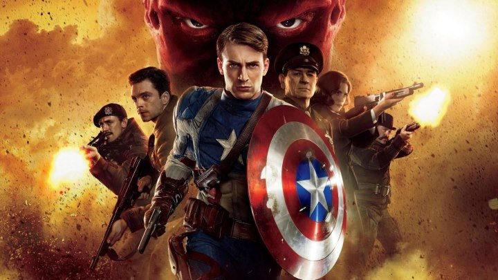 Первый Мститель (2011) фантастика, боевик