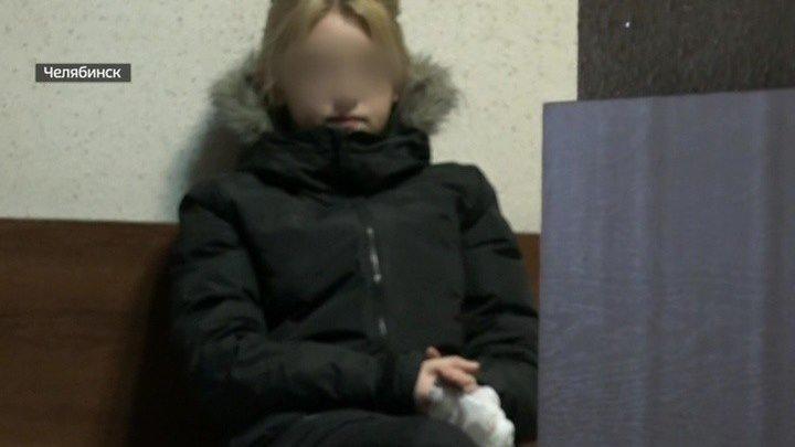 """Мажорка, мигалки, """"Мерседес"""": как челябинская школьница сбила полицейского и уходила от погони."""