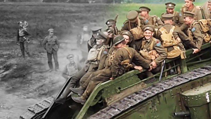 Питер Джексон раскрасил кадры Первой мировой