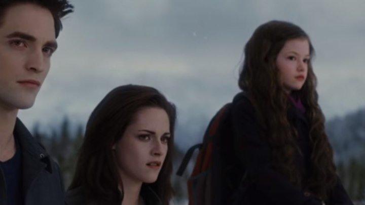 Сумерки. Сага. Рассвет Часть 2 (2012) - Возвращение Элис и Джаспера