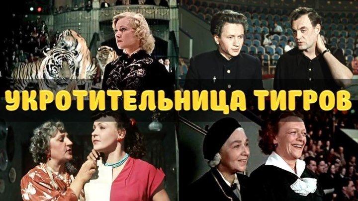 """Фильм """"Укротительница тигров""""_1954 (комедия)."""