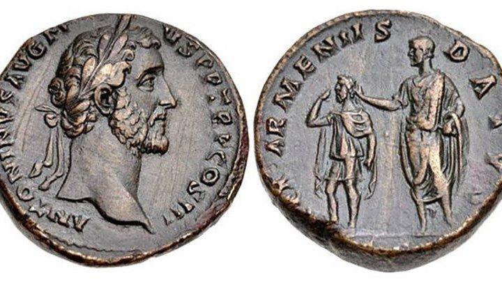 🔴 Армения на монетах и картах древнего Рима