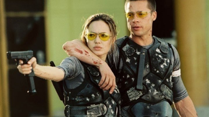 Мистер и миссис Смит / Mr. & Mrs. Smith (2005). боевик, триллер, мелодрама, комедия
