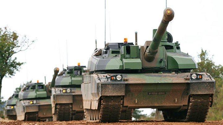 🔥 Танки AMX «Leclerc» Франции в Германии на соревнованиях Tank Challenge 2018