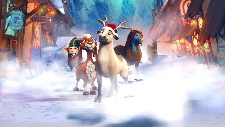 Эллиот – самый маленький олень Санты (2018) Elliot the Littlest Reindeer