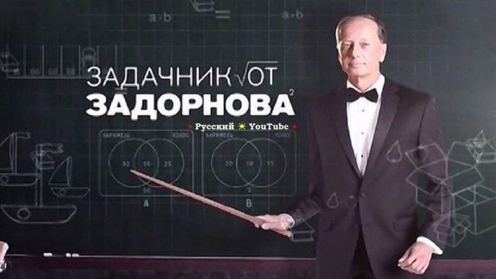 Михаил Задорнов 😉 Задачник от Задорнова ⋆ Русский ☆ YouTube ︸☀︸