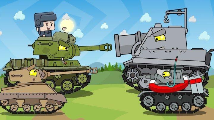 #HomeAnimations: 📺 🖌 Три мини серии Мультики про танки #мультфильм #видео