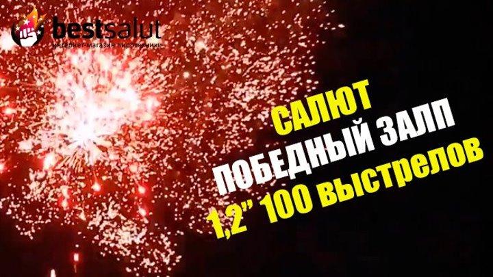 """Салют """"Победный залп"""" FP-B310 1.2"""" 100 выстрелов"""