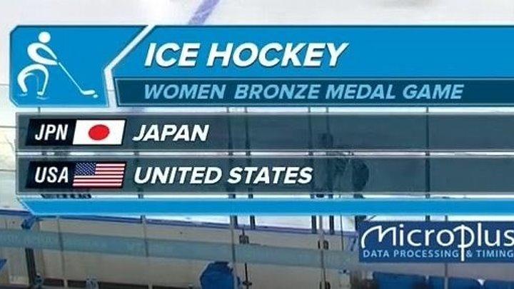 Хоккей » Женщины » Матч за третье место » Япония - США