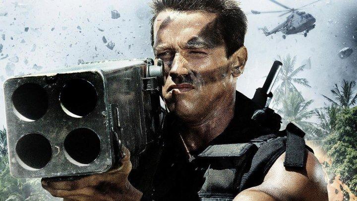 Коммандо HD(боевик, триллер, приключения)1985