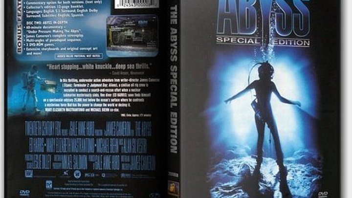 Бездна 1989 Full HD/ The Abyss 1989 Full HD/ Special Edition