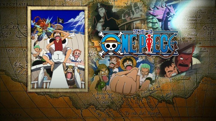 One Piece The Great Gold Pirate (Фильм 1)