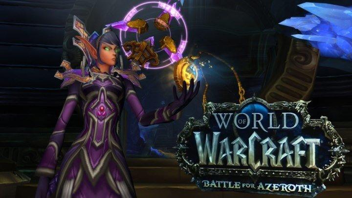Однокнопочный МАГ в World of Warcraft Battle for Azeroth №51