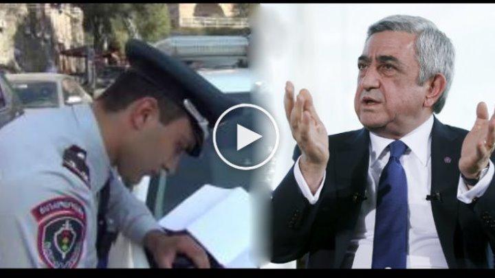 Գային կանգնեցնում է Սերժ Սարգսյան -ին: սա տեսնել է պետք